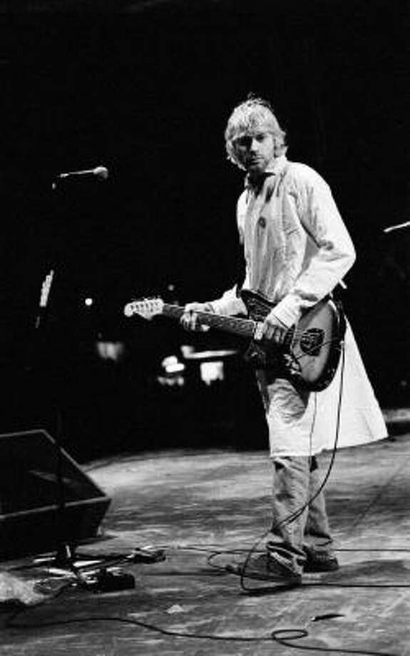 Kurt Cobain and Nirvana didn't release a live album while the singer/guitarist was still alive, but three have come out since his death in 1994. Photo: Universal Music Group
