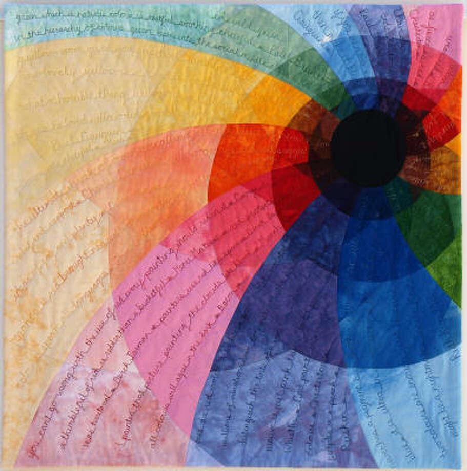 Colour Vortexby Ruth Keys Photo: International Quilt Festival
