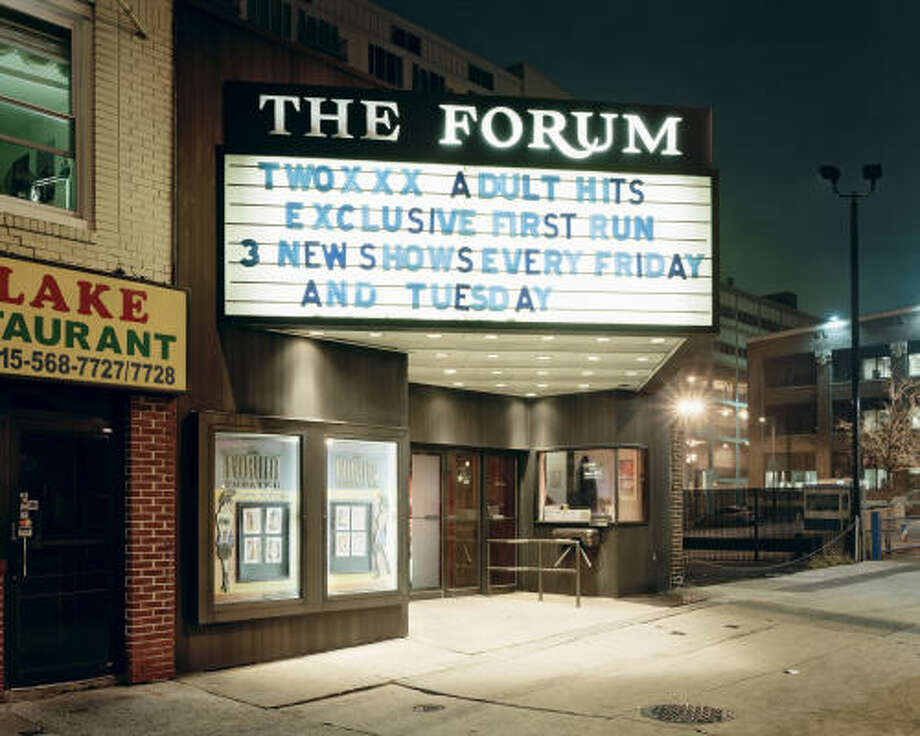 The Forum, Philadelphia: Will Steacy, 2008, from the FotoFest 2010 Biennial exhibition Whatever Was Splendid Photo: Courtesy Of The Artist And Michael Mazzeo