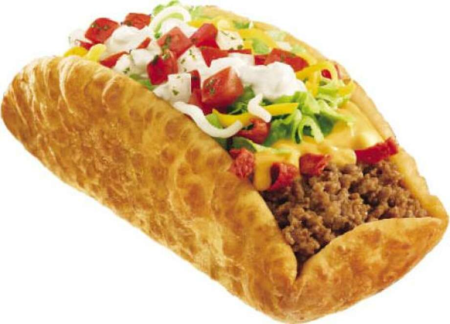 Drive thru gourmet xxl chalupa its huge and a huge mess photo taco bell malvernweather Choice Image