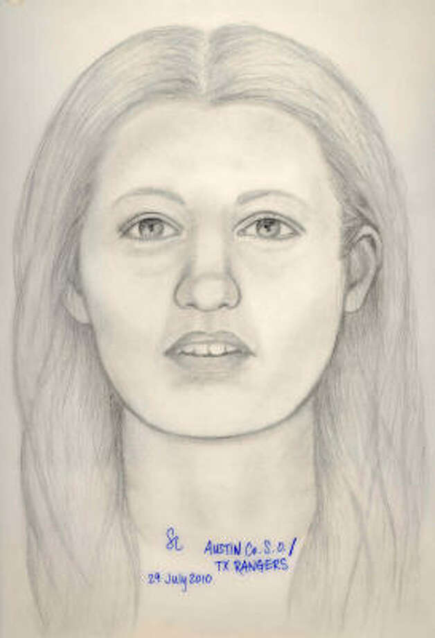 A forensic artist used photos and the woman's skull for this image. Photo: Handout Photo