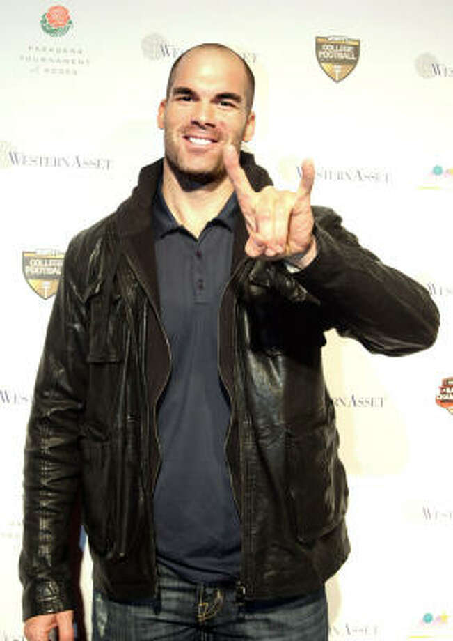 Actor  Brandon Molale at the 2010 Official BCS National Championship Party in Pasadena. Photo: RAUL ROA
