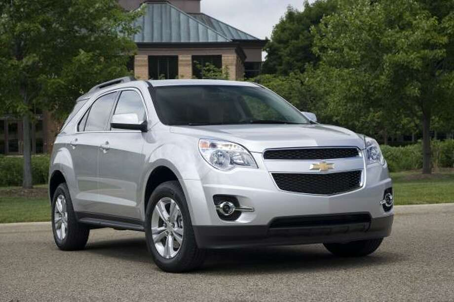 Chevrolet's Equinox is a fresh design for 2010. The standard powerplant across the lineup is a 2.4-liter Ecotec I-4. Pricing for front-wheel-drive models starts at $22,440.
