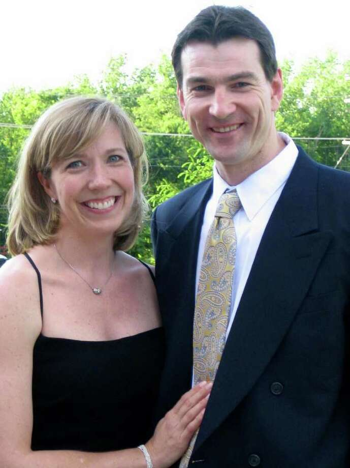 Laura Metzger and Michael Lynch are engaged. Photo: Contributed Photo