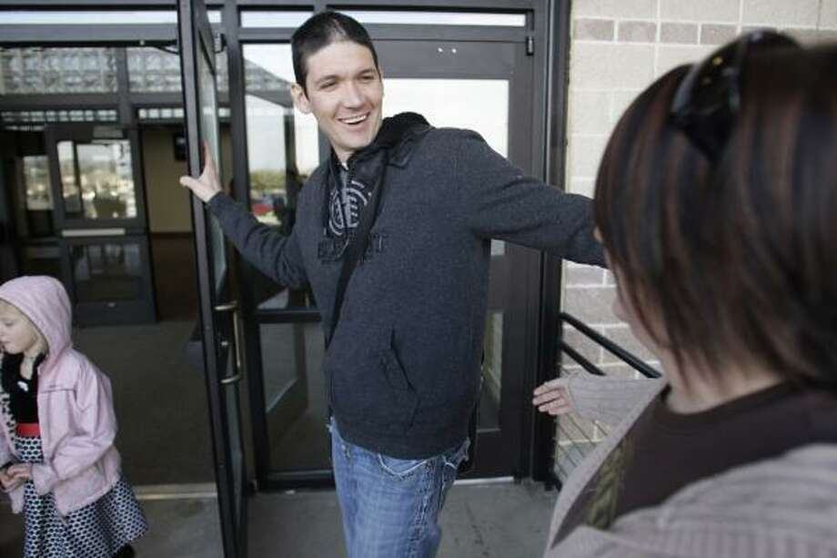 Matt Chandler is leaning on his faith to fight cancer. Photo: LM Otero, Associated Press