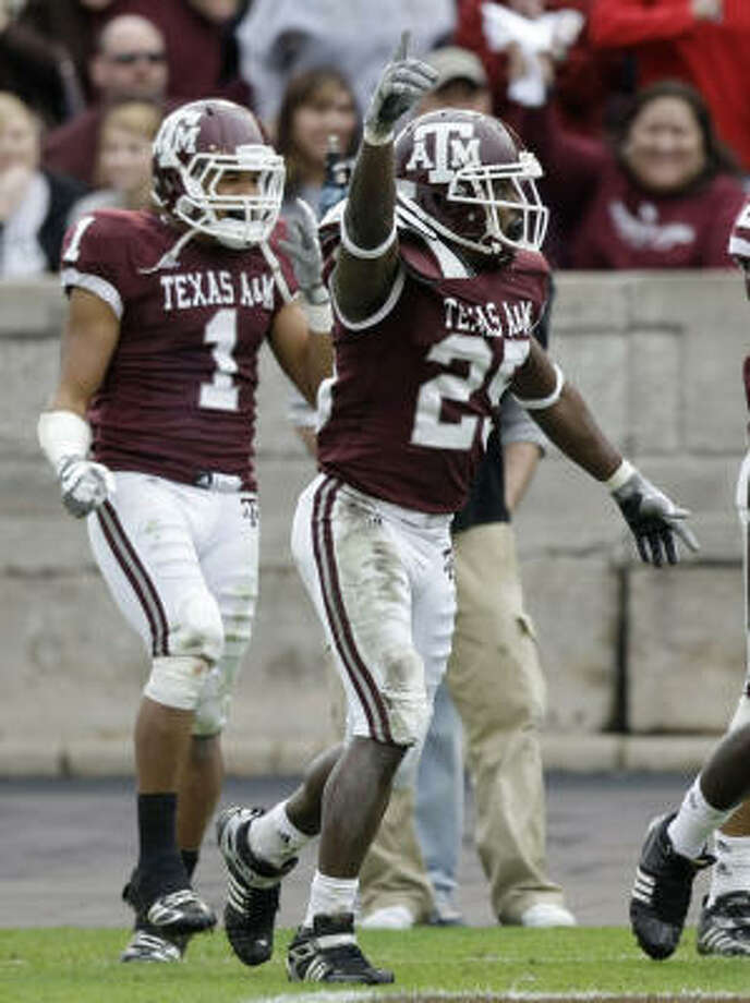 Texas A&M has had a dozen players selected in the NFL draft the last five years, but only two as high as the second round. Photo: Brett Coomer, Chronicle
