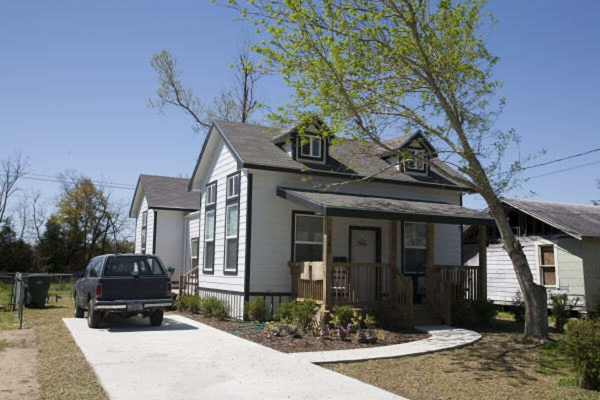 This home is an example of low-income disaster housing that can be ready in six to eight weeks after a hurricane or tornado and cost no more than $65,000.