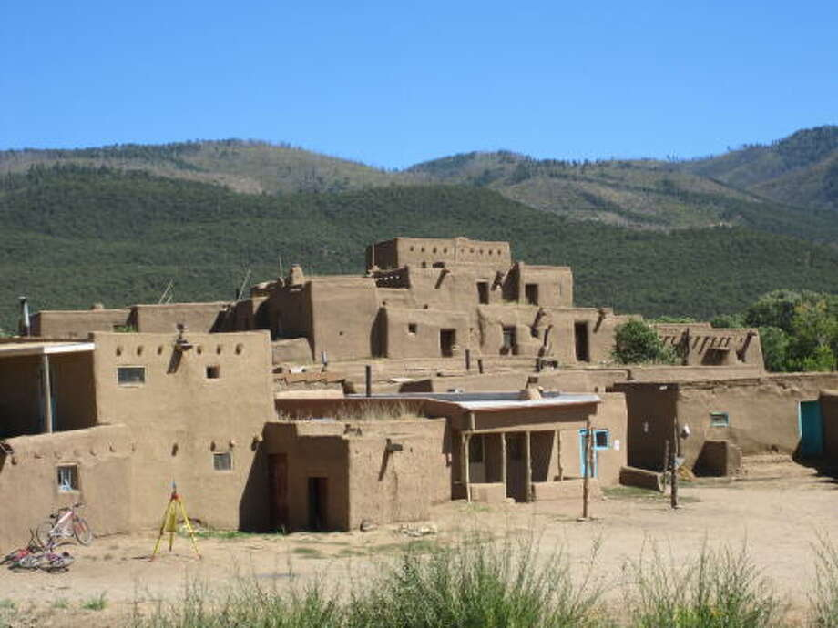 Taos is home to a 1,000-year-old pueblo that is a UNESCO world heritage site. Photo: JILLIAN COHAN, Chroncile