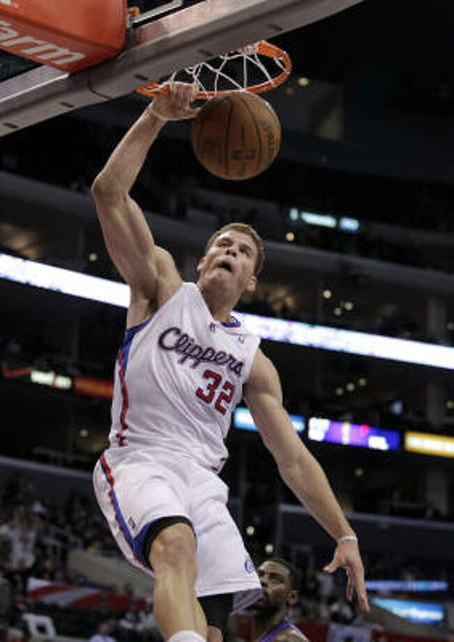 Blake Griffin's thunderous throw-downs have caught the eye of fans and opponents alike. Photo: Jae C. Hong, AP