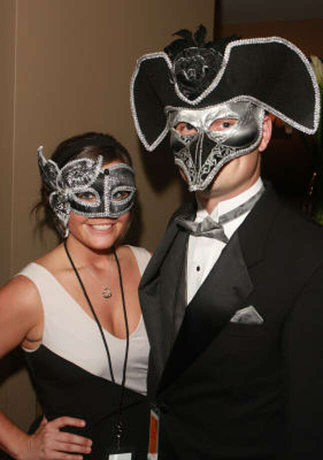 Katy Pease and Matt Tomlinson Photo: Gary Fountain, For The Chronicle