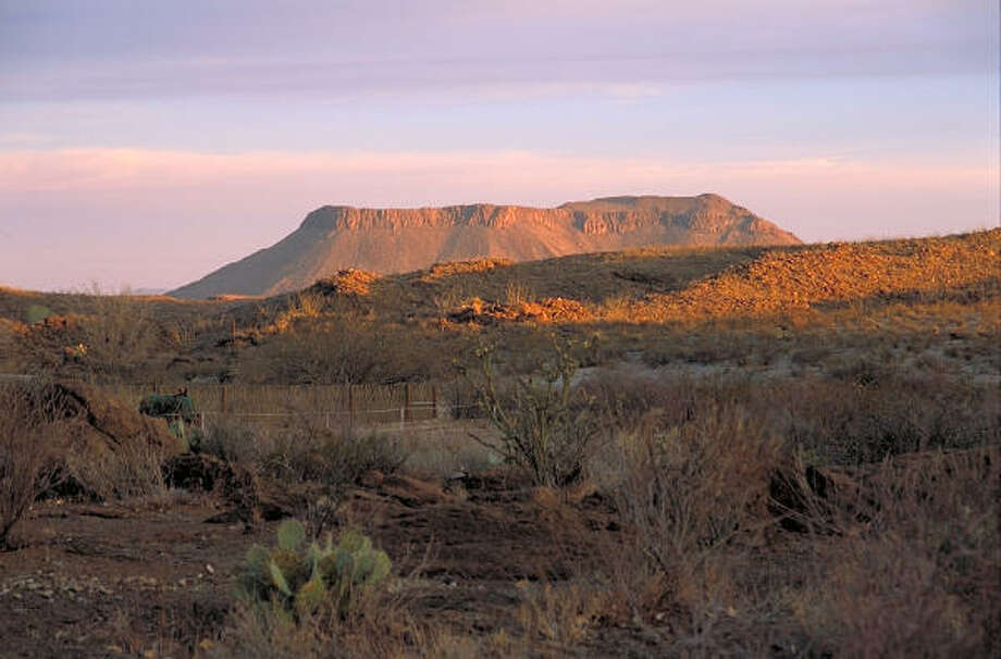 Mesas are part of the spectacular scenery at Big Bend Ranch State Park. Photo: TEXAS  PARKS & WILDLIFE