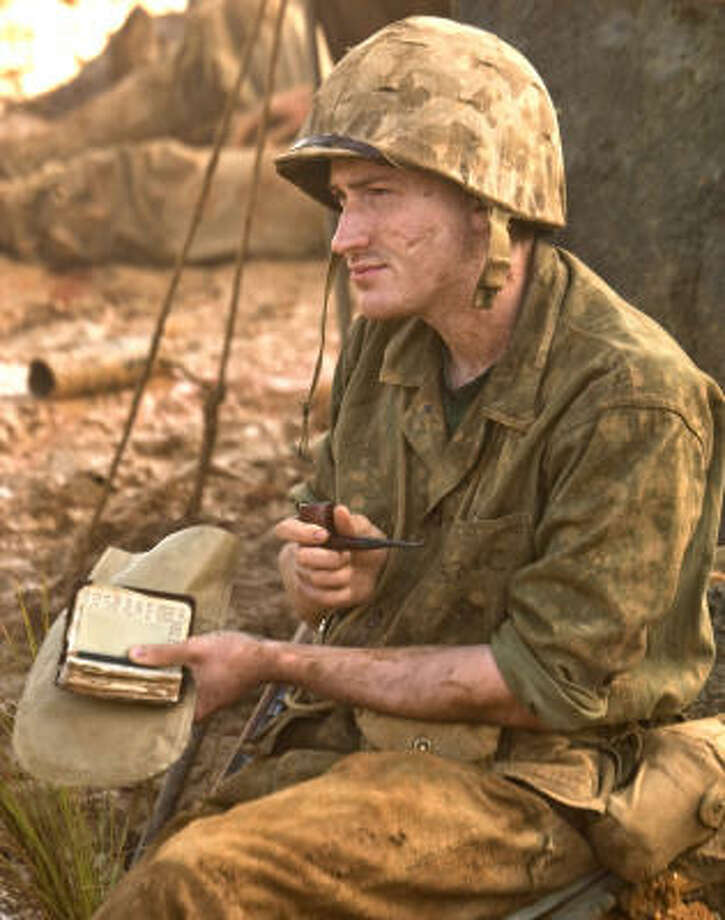 Joe Mazzello stars in the HBO series The Pacific. Photo: HBO