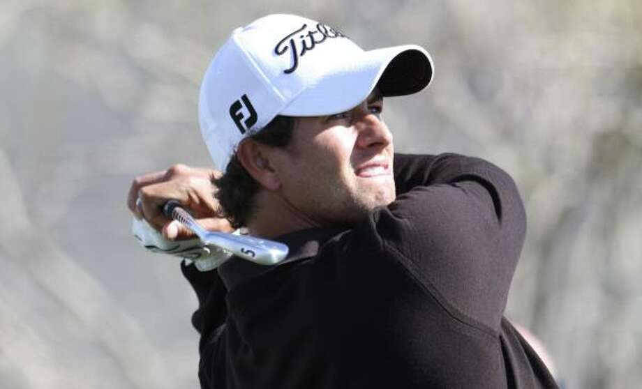 Adam Scott is a former top-five player who had an injury-marred 2009 season. Photo: Lenny Ignelzi, AP