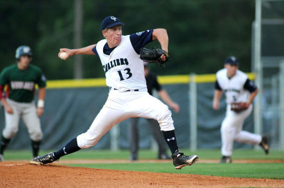 College Park, a Region II-5A finalist, returns the Chronicle's 2009 Pitcher of the Year, John Simms. Photo: Jerry Baker, For The Chronicle