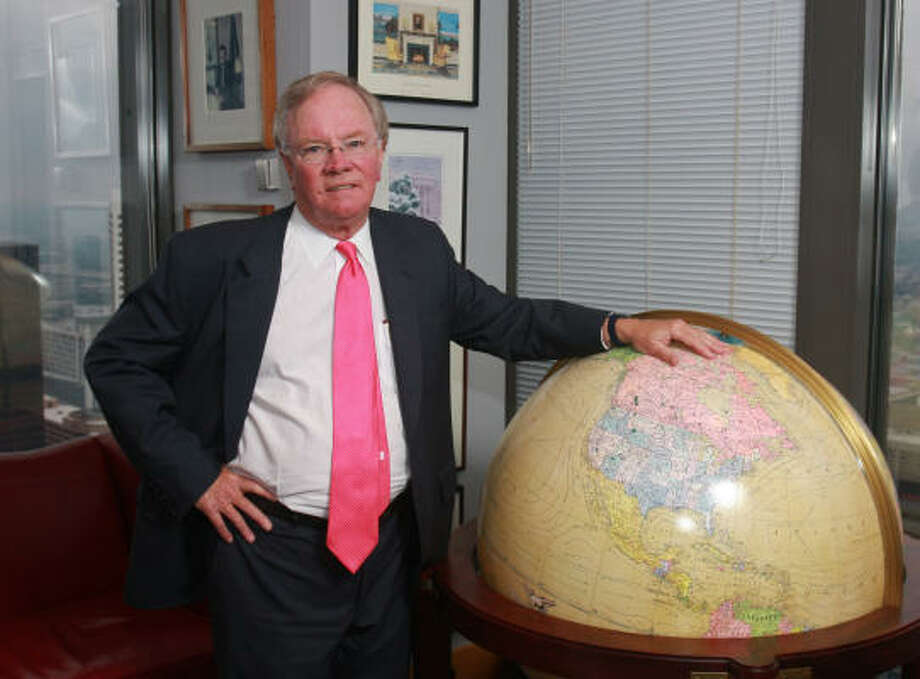 Matt Simmons was highly regarded for his success providing financial services to the oil and gas industry. He died Sunday at his vacation home in Maine. Photo: Gary Fountain, For The Chronicle