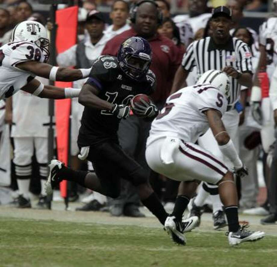 Prairie View running back Donald Babers' workload should spike after an injury to his backup. Photo: Johnny Hanson, Chronicle