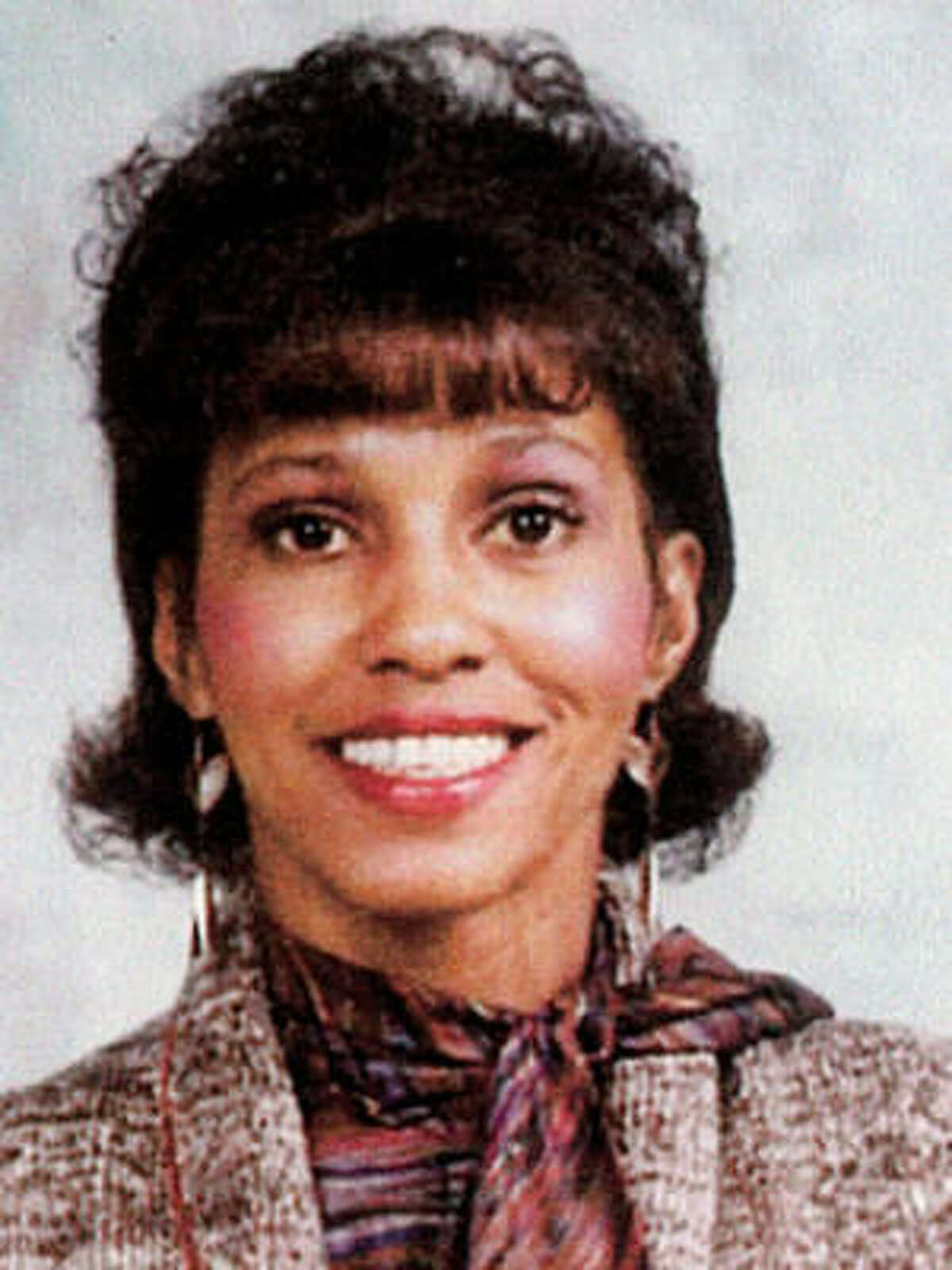 Retia Lafaye Long was found strangled on a stairway behind a church building.