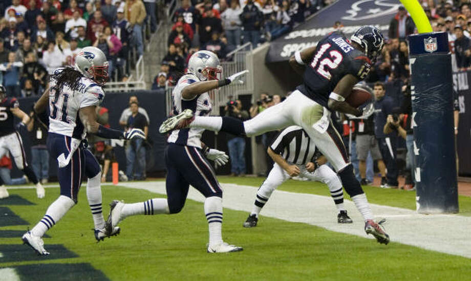 The Texans finished with a four-game winning streak when every game counted Photo: Brett Coomer, Chronicle