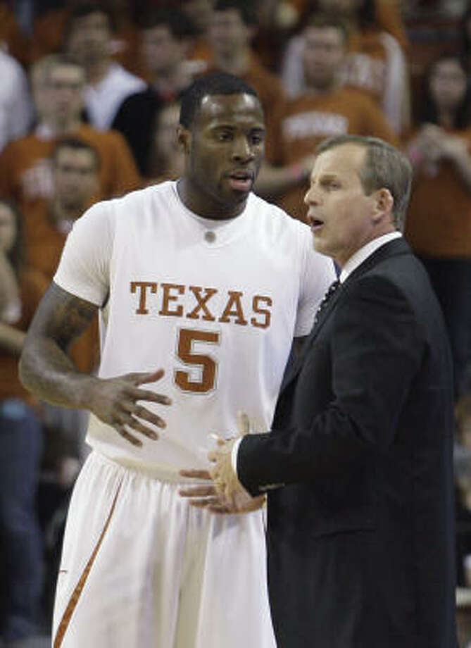 Texas coach Rick Barnes must clean up his team's mistakes to make a run deep in the tournament. Photo: Harry Cabluck, AP