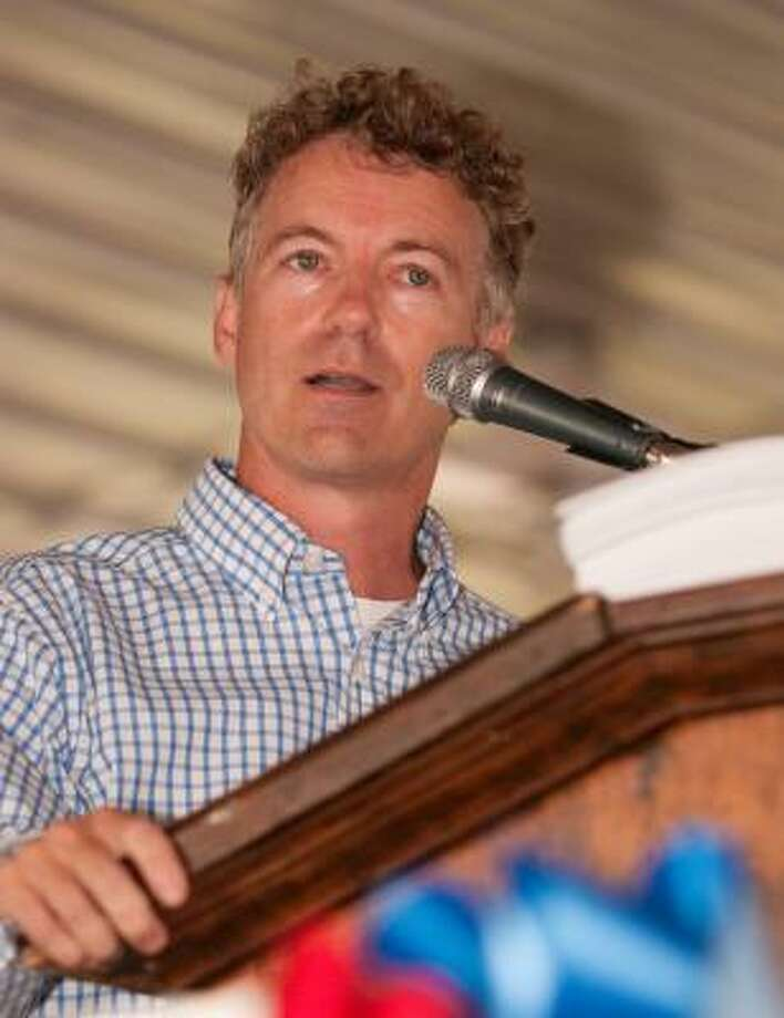 Rand Paul is a lot like his father politically. But he's far less of a quirky outsider. Photo: DANIEL PATMORE, Associated Press