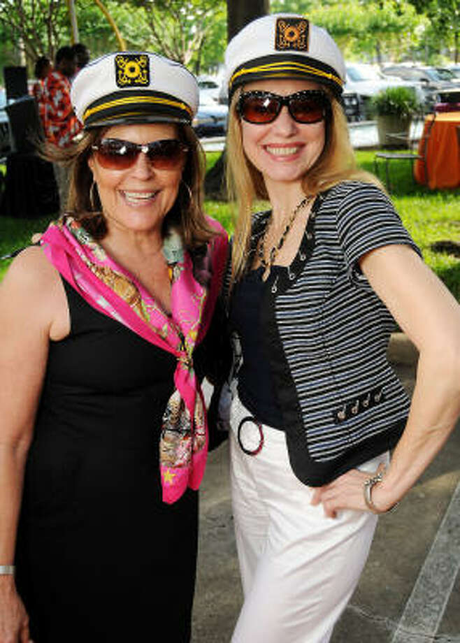 Sheri Roane and Natalia Blachuta at the Cruise Party at the Houston Design Center. Photo: Dave Rossman, For The Chronicle
