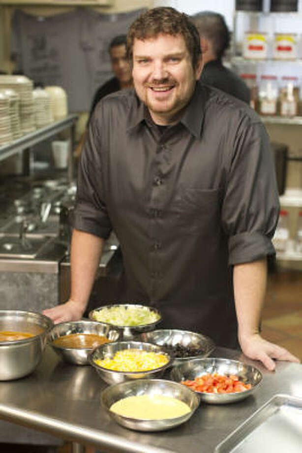 "Tom Pizzica was one of the four finalists from season six of The Next Food Network Star. Although he didn't win, his good-natured, ""Big Chef"" personality made him a fan favorite, and Food Network made him host of his own show, Outrageous Food. Photo: FOOD NETWORK"
