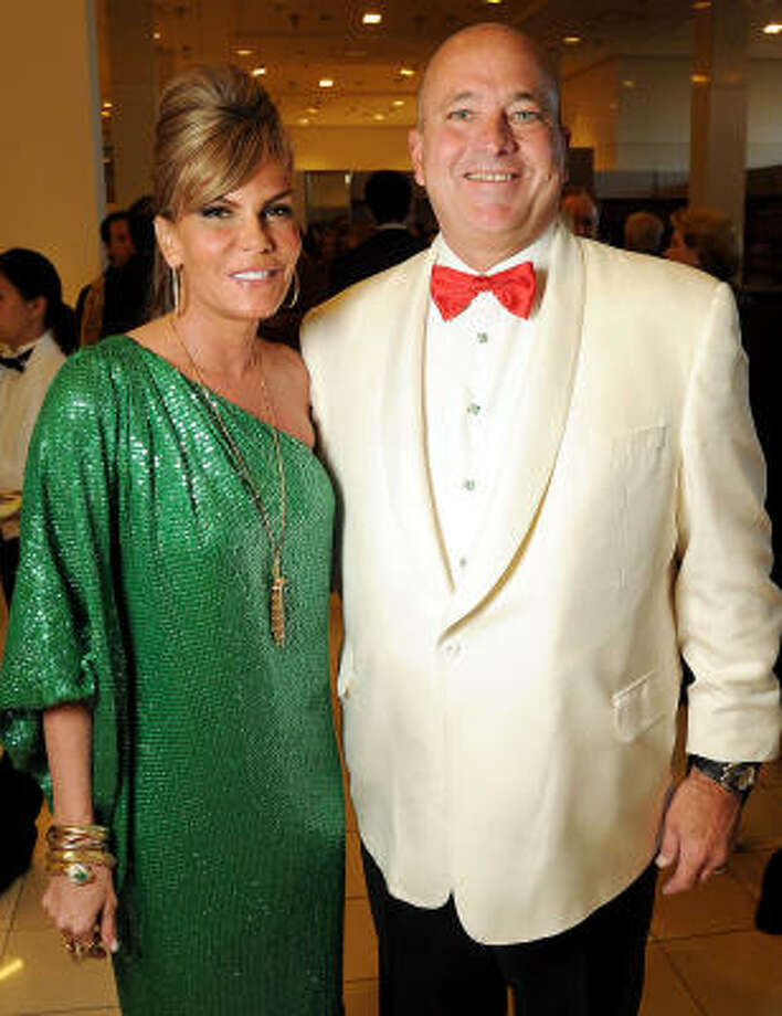 Honorees Debra and Mark Grierson at the Legacy Community Health Services 11th spring soiree. Photo: Dave Rossman