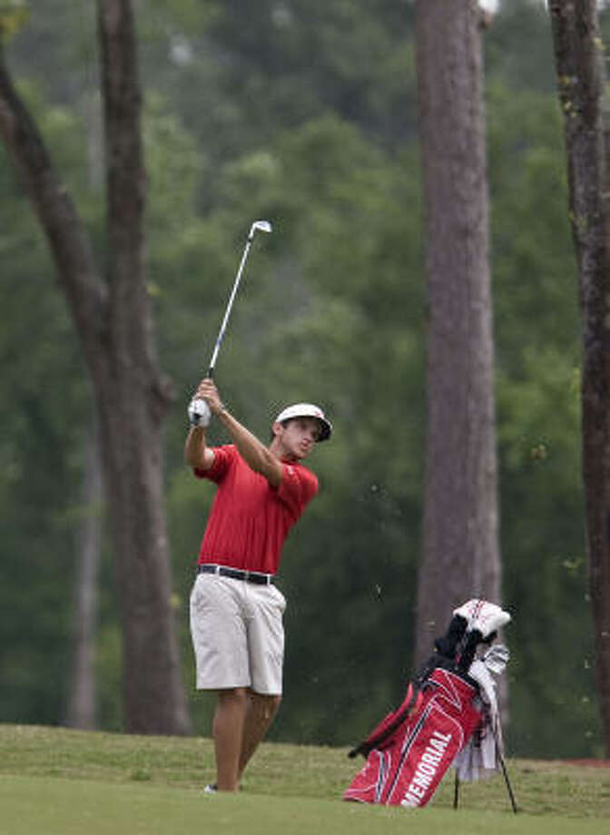 Cory Whitsett's two-day total of 144 was enough for the championship. Photo: James Nielsen, Chronicle