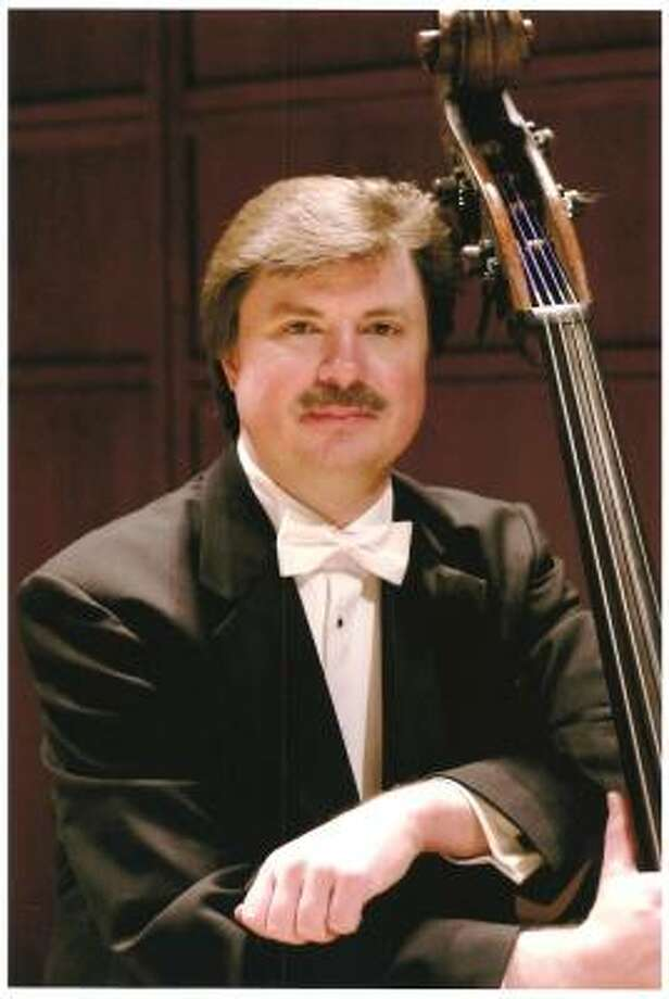 Bruce Ridge, conference chairman and a bass player in the Raleigh's North Carolina Symphony. Photo: MICHAEL ZIRKLE