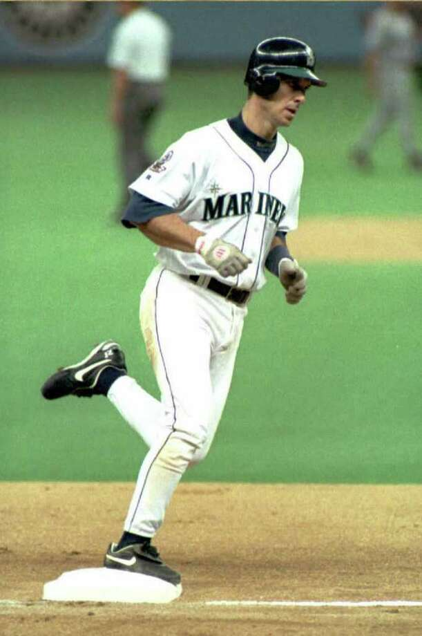 Tino MartinezThen – Having had a relatively quiet career with Mariners through 1994, Martinez broke out offensively in 1995. The first baseman played in 141 games, led the team in at-bats with 519, blasted 31 home runs and collected 111 RBIs on his way to being named to the American League All-Star team. Photo: Michael Moore, AFP/Getty Images / AFP