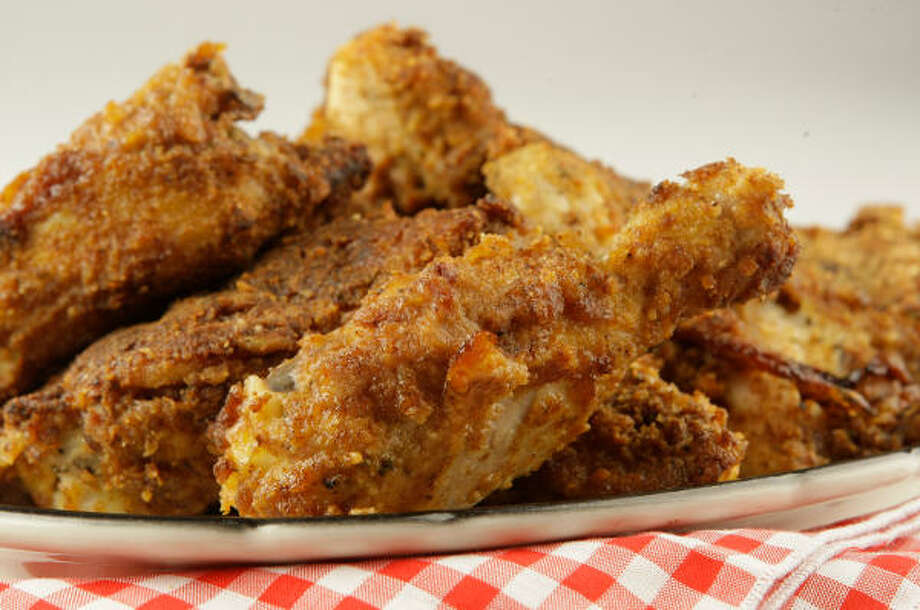 Crunchy Baked Chicken Photo: MELISSA PHILLIP :, CHRONICLE