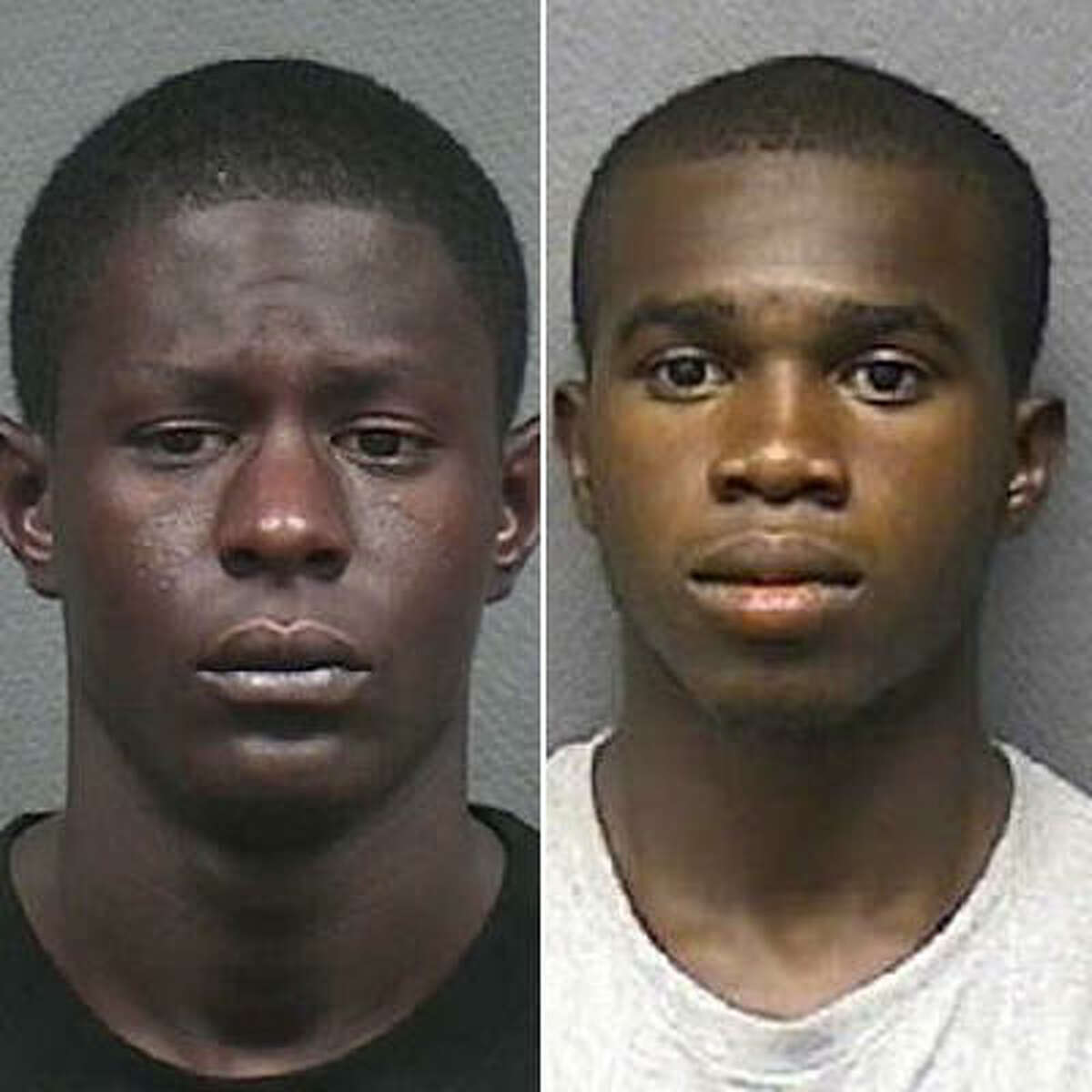 Albert Randle, 20, left, and Arreinius Watson, 19, are charged with burglary of a habitation.