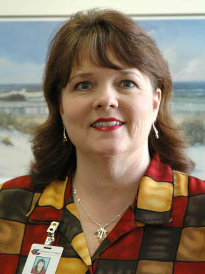 Mary Jan Lantz, Galveston College human resources director, survived a plane crash in Alaska on Aug. 8, along her husband and two sons.