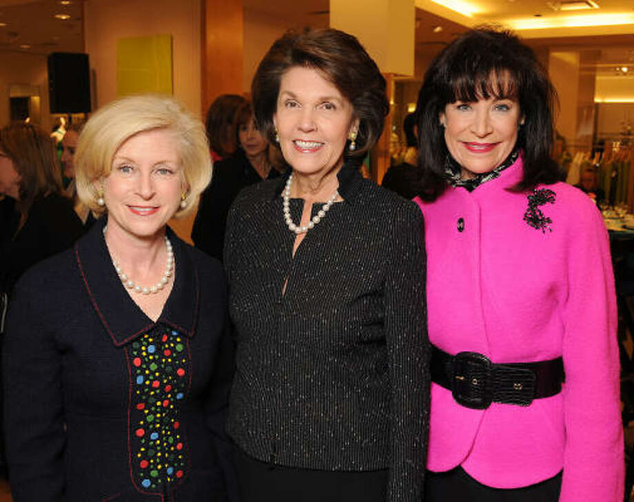 Ann Bookout, from left, Lilly Andress and Betty Hrncir Photo: Dave Rossman, For The Chronicle