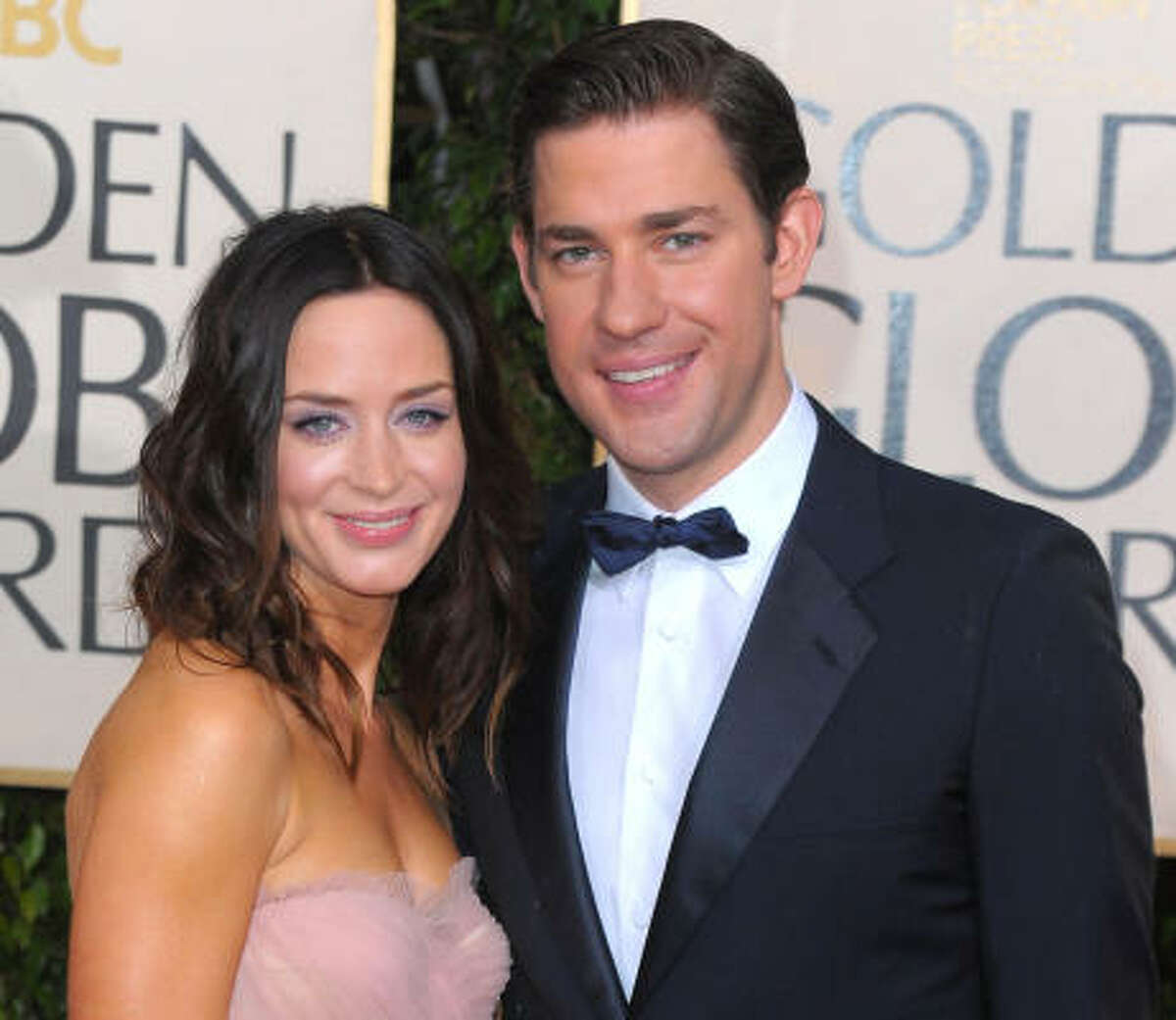 Emily Blunt and John Krasinski , best known as Jim from The Office, walked down the aisle in July.