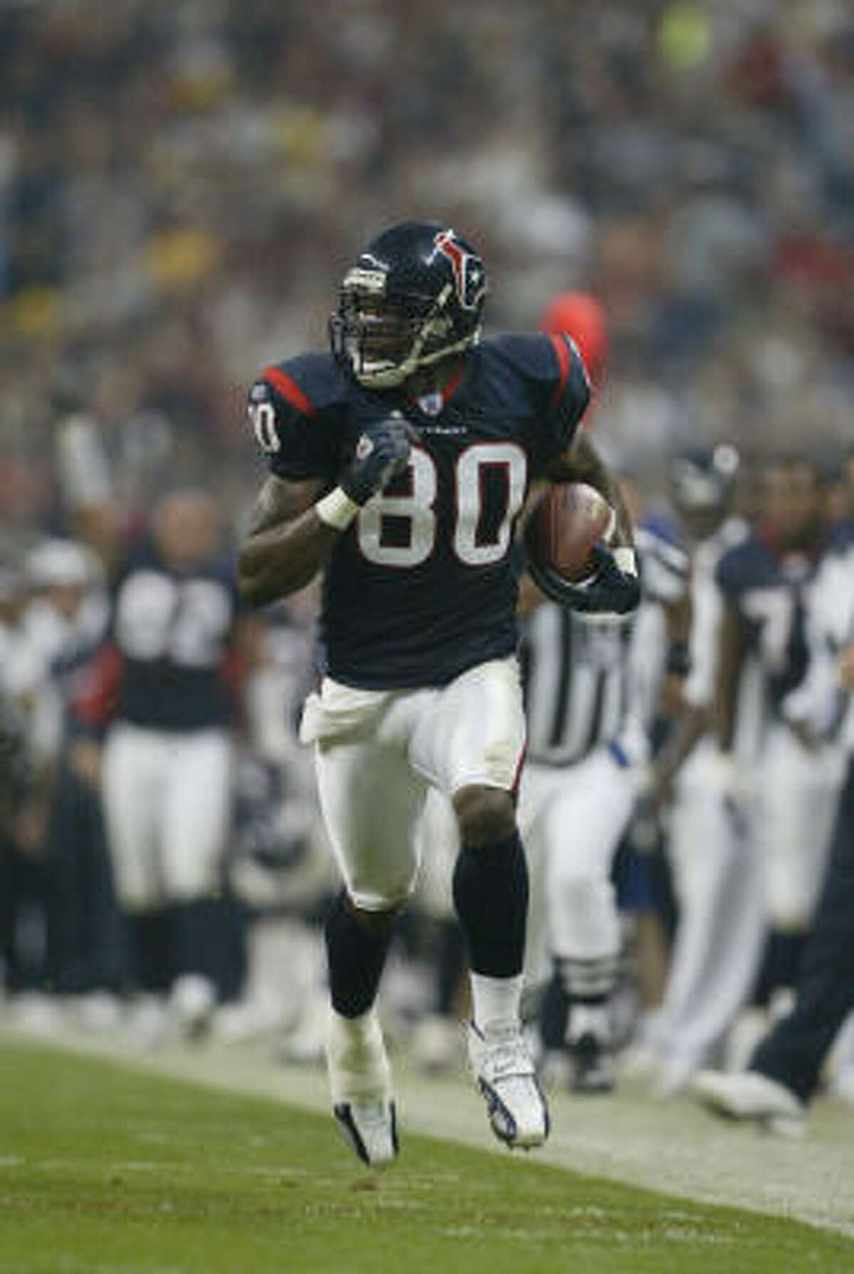 2004 Wide receiver Andre Johnson was named to his first Pro Bowl.