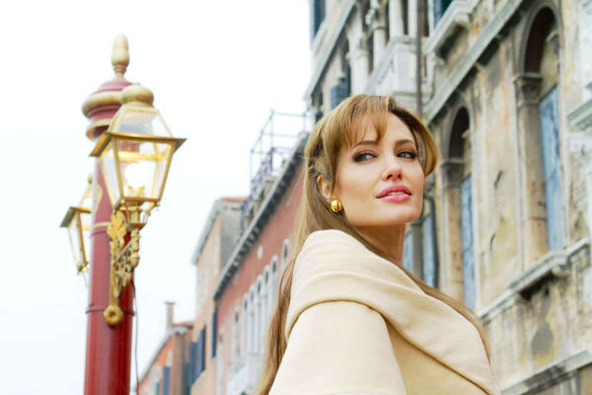 The Tourist , $5.7 million: A woman uses a broken-hearted tourist to throw a gangster and a detective off the trail of her thieving ex-lover. Angelina Jolie and Johnny Depp star.