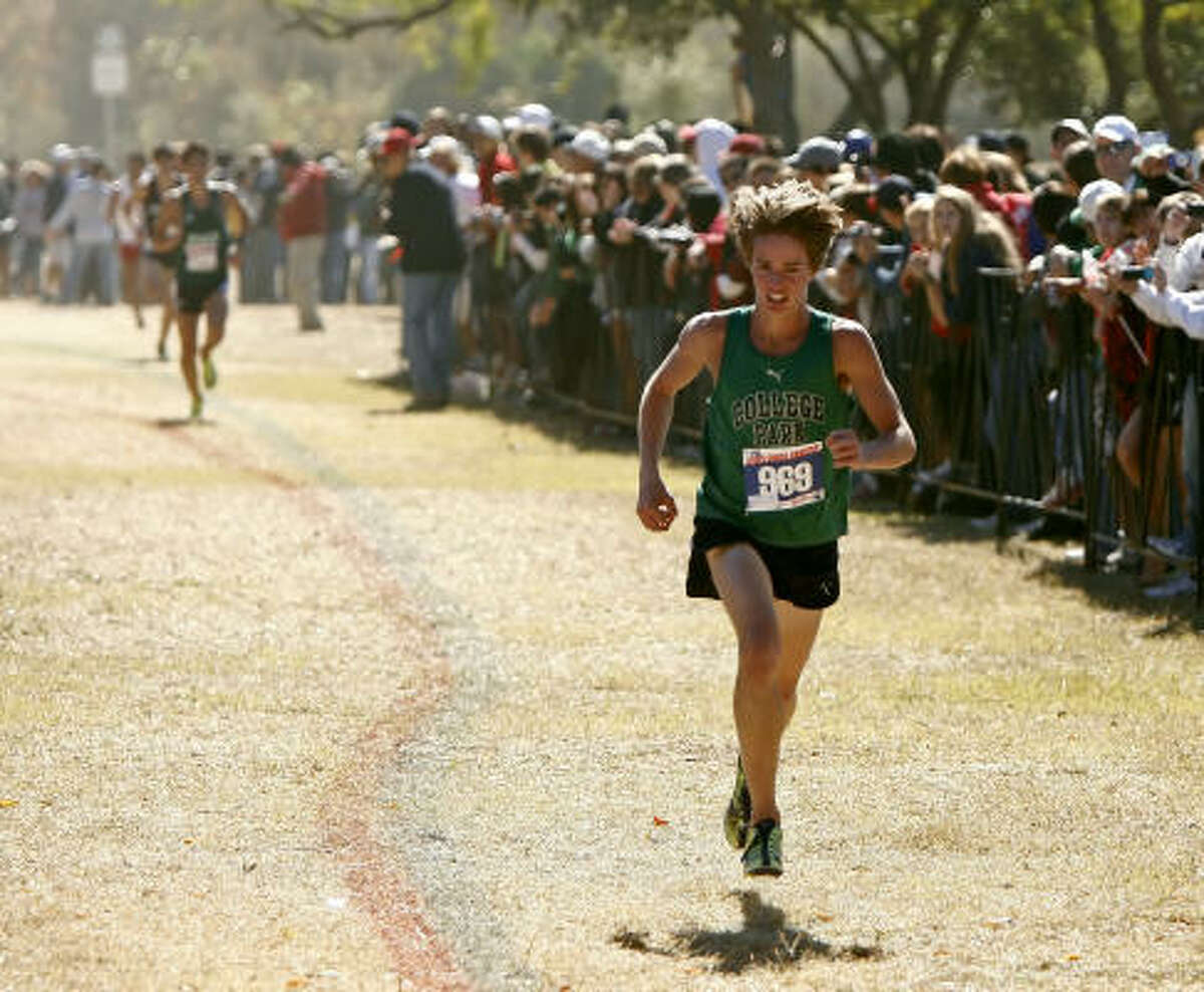 Brian Gohlke, senior, College Park Gohlke, the Chronicle's boy's cross country runner of the year, placed second at the Class 5A state meet in Round Rock, part of a great season in which he won the Region II title and placed eighth at the Nike Cross Nationals.