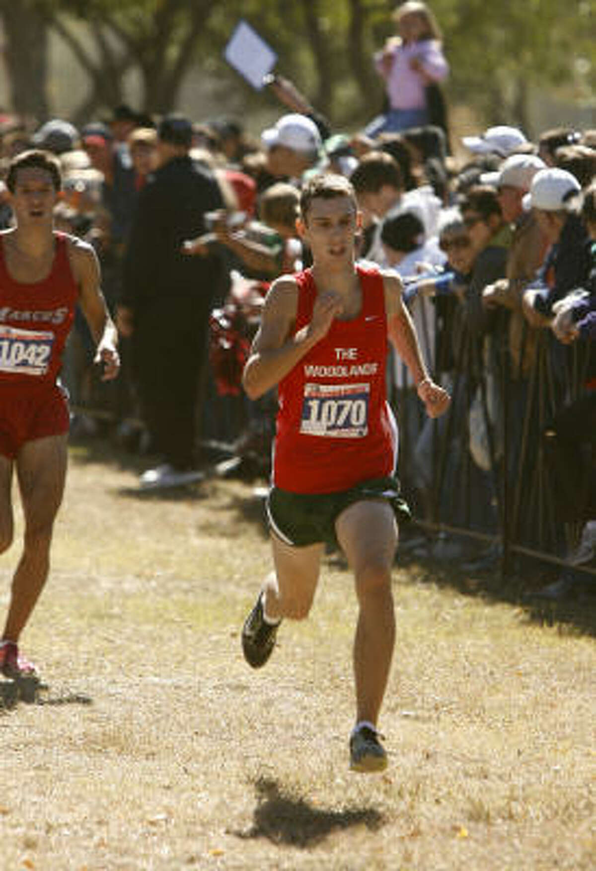 Phil Schneider, senior, The Woodlands Schneider finished third in the Region II-5A championships (15:08.15) and finished 10th at the Class 5A state meet (15:38.25). He helped the Highlanders to a Class 5A state team title.