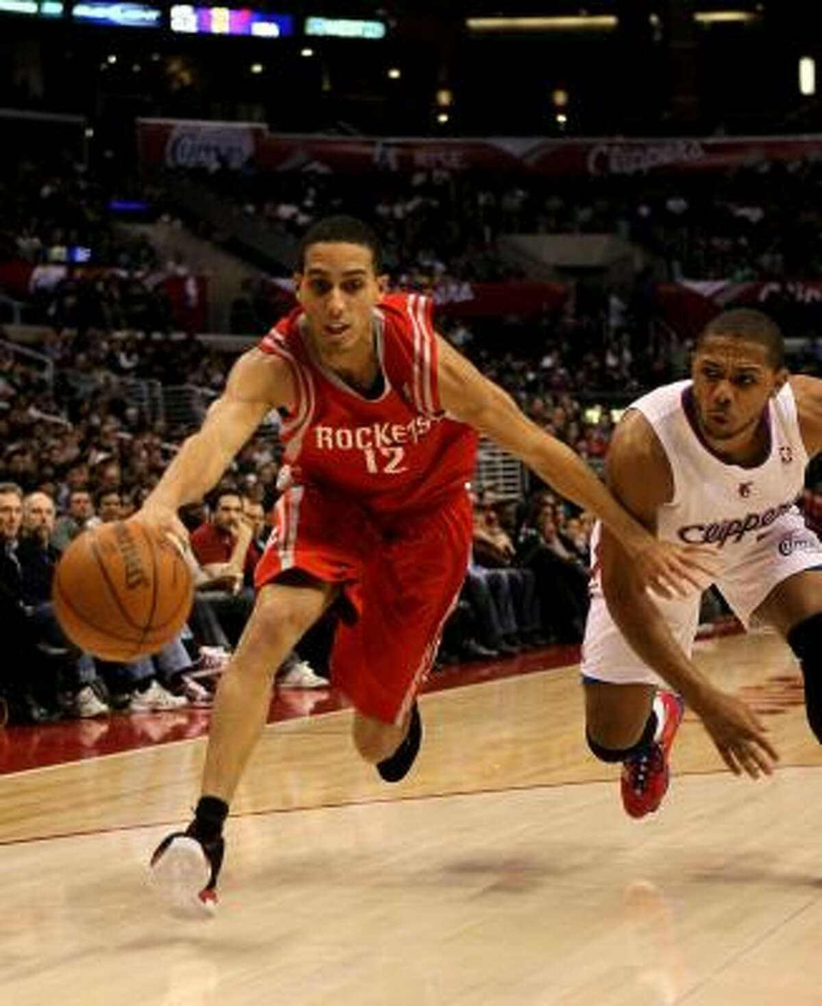 Dec. 22: Rockets 97, Clippers 92 Rockets guard Kevin Martin, left, scored a game-high 28 points on 8-of-19 shooting during Wednesday night's win over the Los Angeles Clippers at the Staples Center in Los Angeles. The Rockets improved to 14-15.
