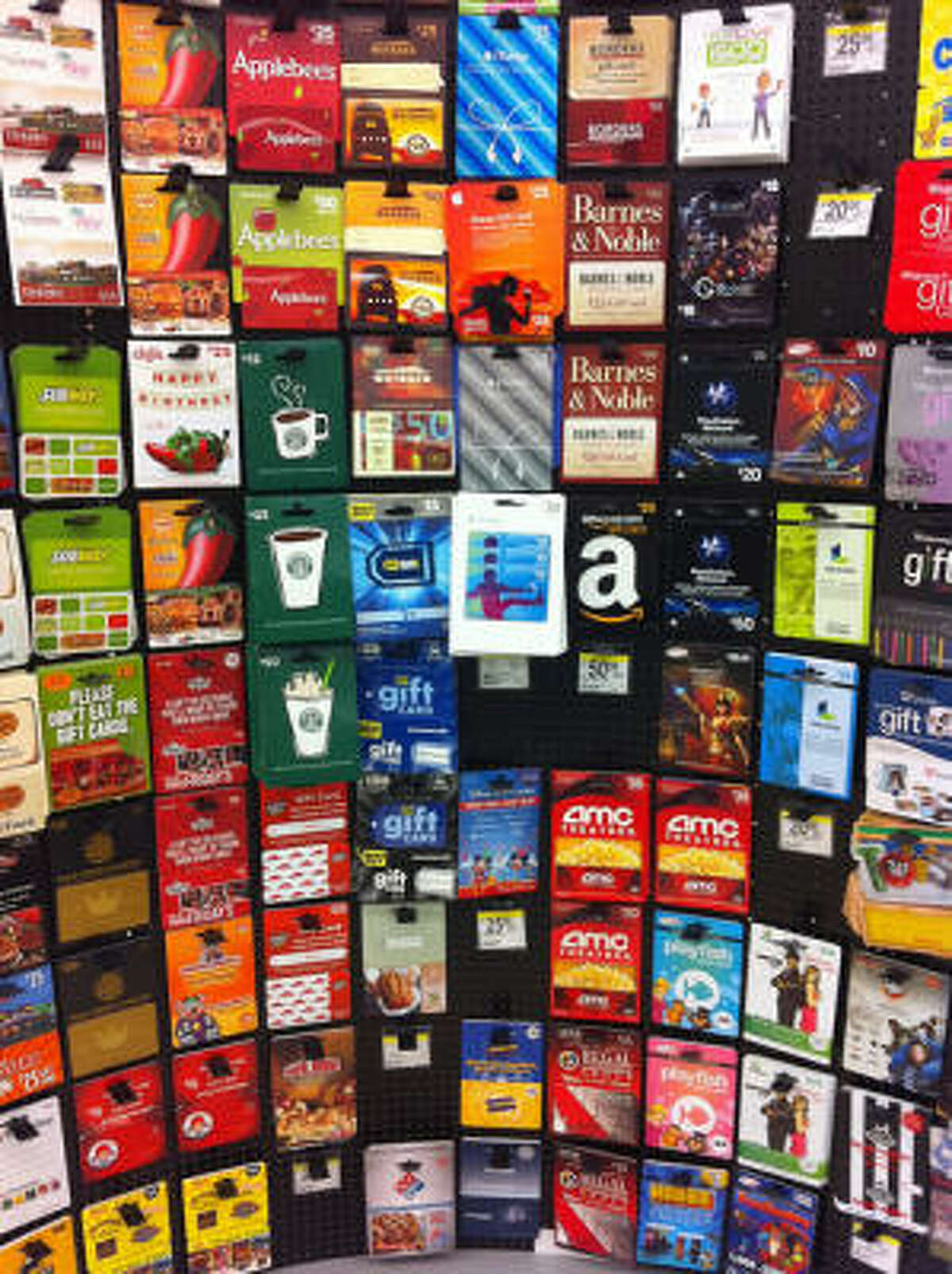 Gift cards : Seriously, something for everyone, and you don't even have to wrap 'em.