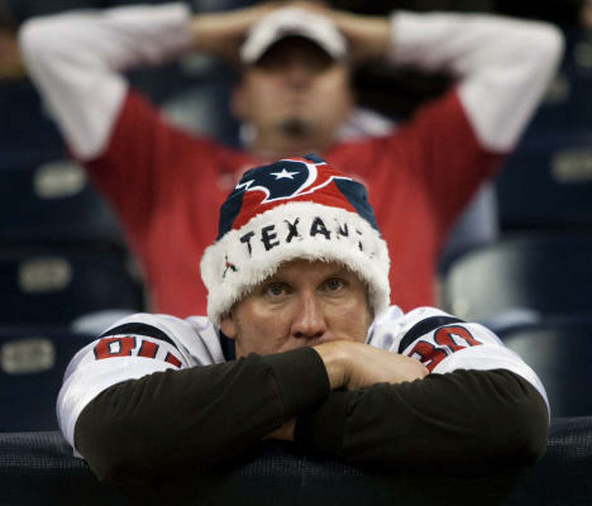 Many thought this would be the year the Texans would finally reach the postseason, but after a 4-2 start it was all downhill. It seems bad, but some storied franchises had much bumpier beginnings. Read on.