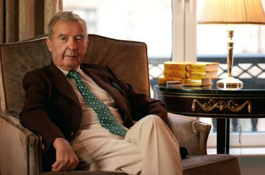Best selling author Dick Francis died Feb. 14 at age 89. Photo: JIM COOPER, AP
