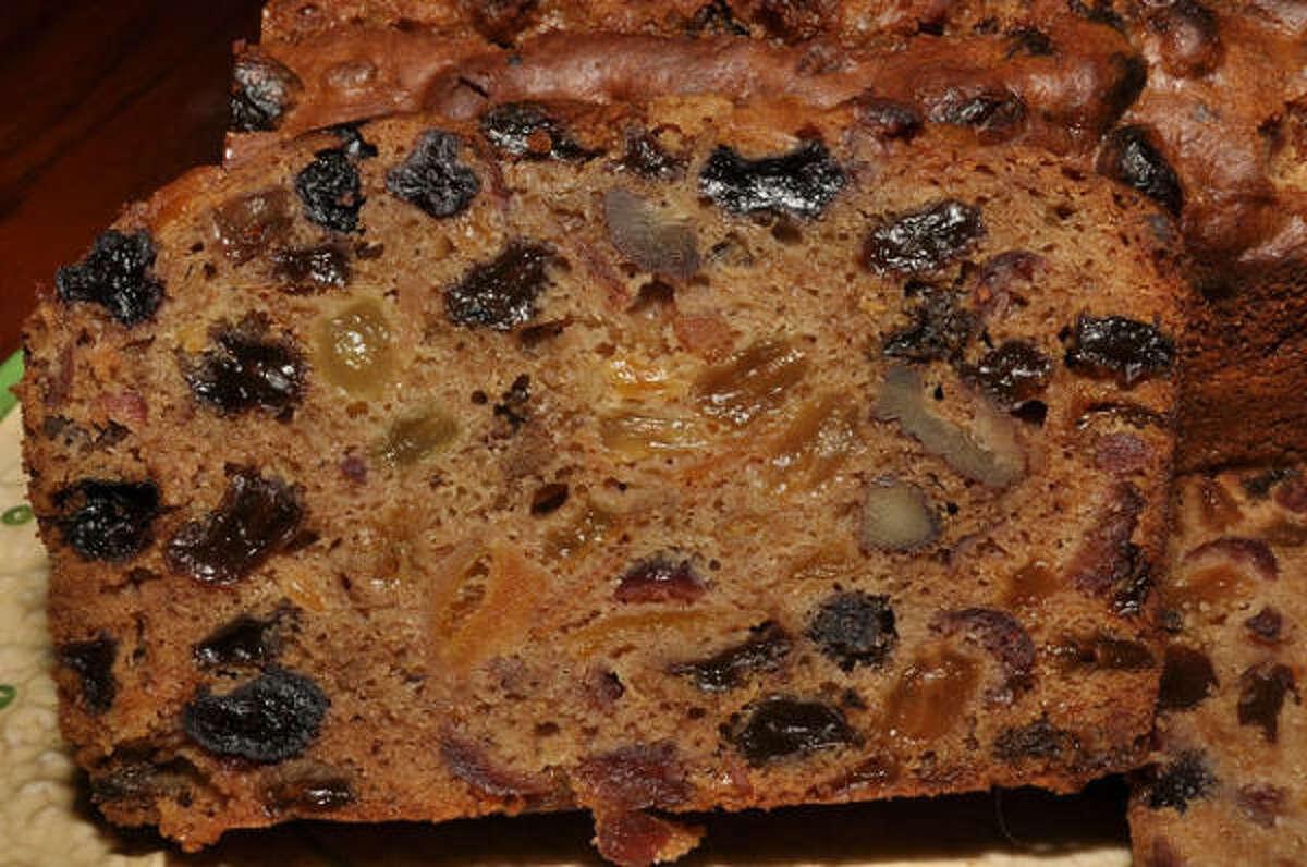 The average fruitcake is as dense as mahogany.