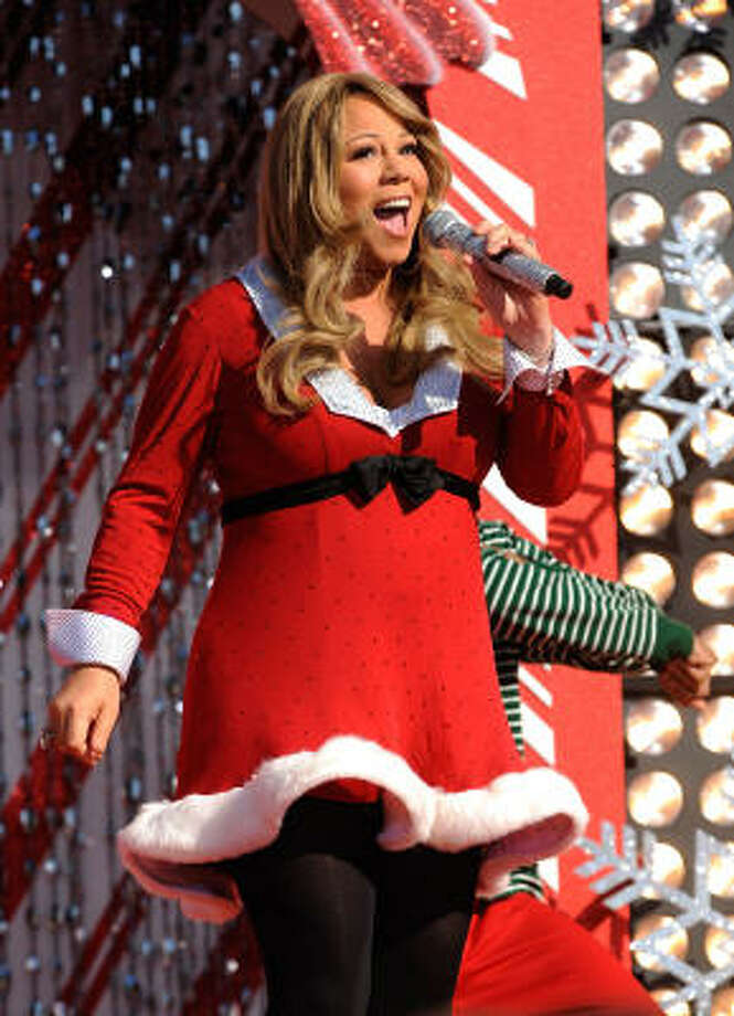 After years of dodging pregnancy rumors Mariah Carey announced she's actually pregnant now... with twins! Photo: Mark Ashman, AP
