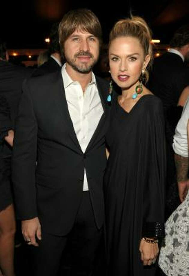 Rodger Berman and stylist Rachel Zoe dodged pregnancy questions for months before announcing on twitter they're expecting. They're having a boy. Photo: John Shearer, Getty Images For MOCA