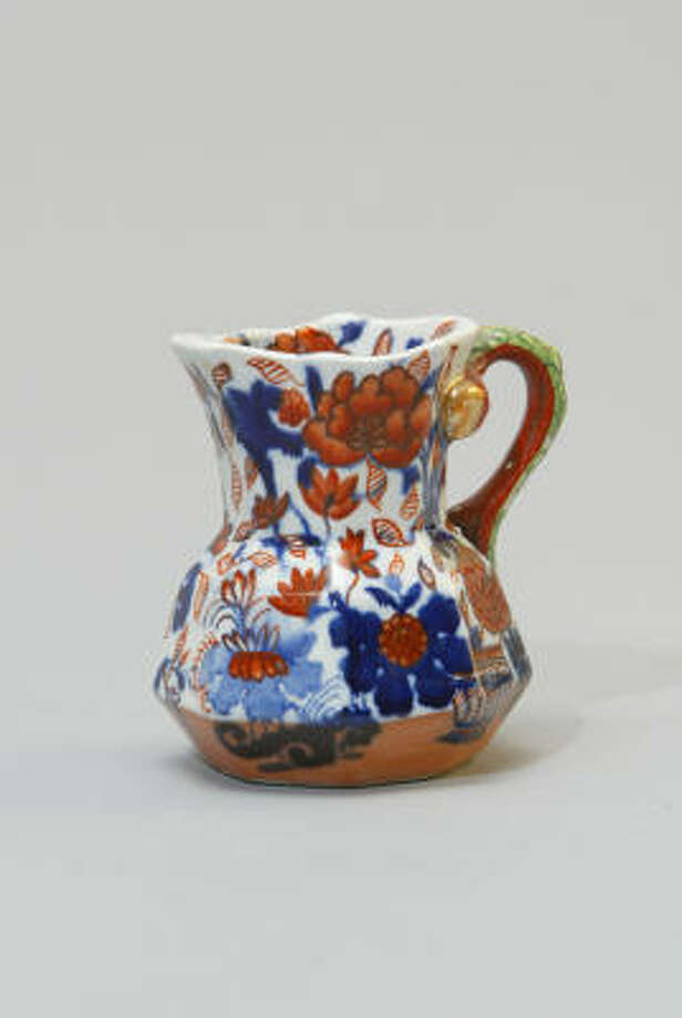 An early 19th-century Mason's Ironstone pitcher is an example of what can be found at the 58th Theta Charity Antiques Show. Photo: Craig H. Hartley