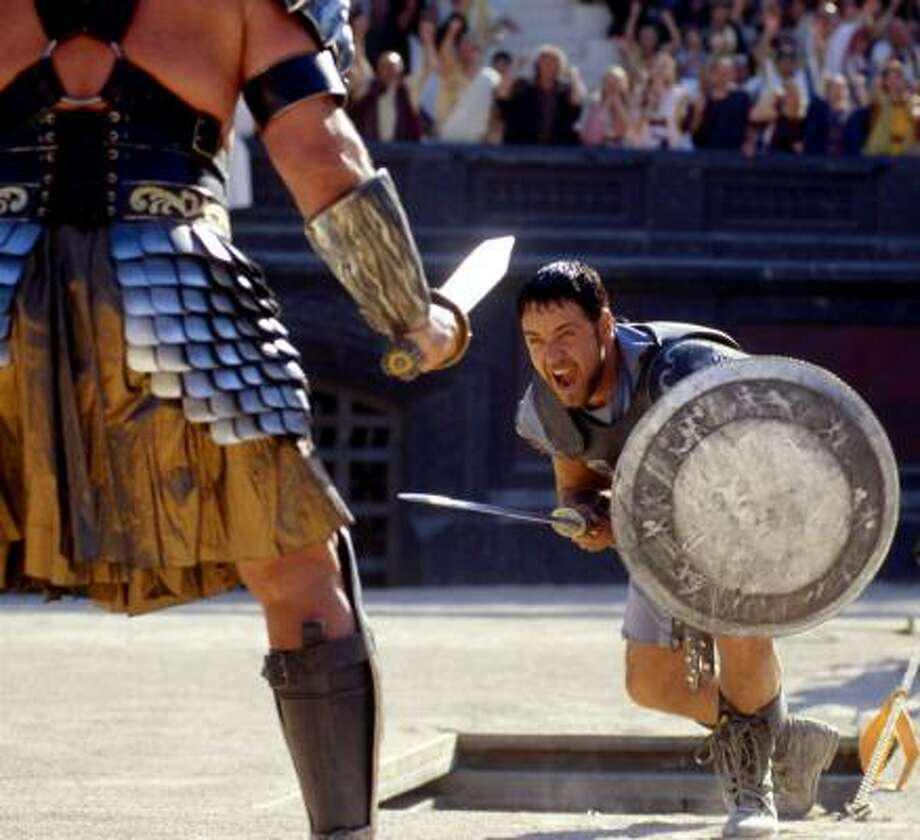 "Gladiator (2000)""Are you not entertained! Are you not entertained! Is this not why you are here!"" Photo: AP"
