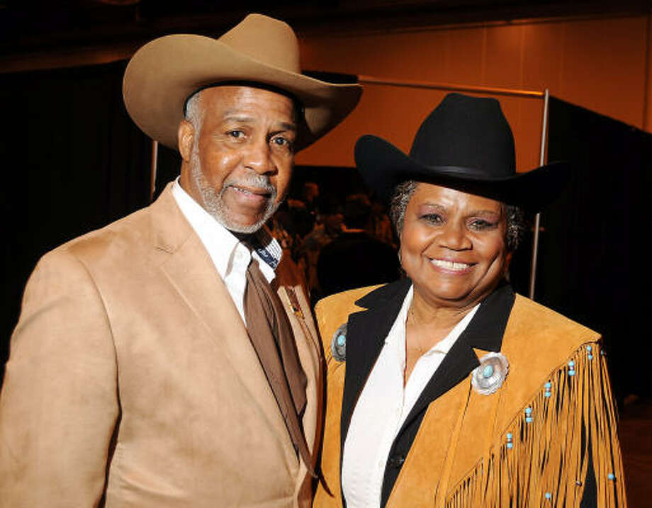 Alex Prince and Bettye Bruno at the 17th Annual Black Heritage Western Gala at the Reliant Center. Photo: Dave Rossman, For The Chronicle