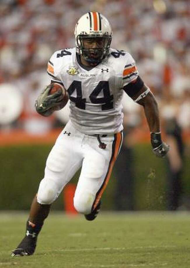 Second-round pick Ben Tate will challenge Steve Slaton for playing time at running back. Photo: Doug Benc, Getty Images
